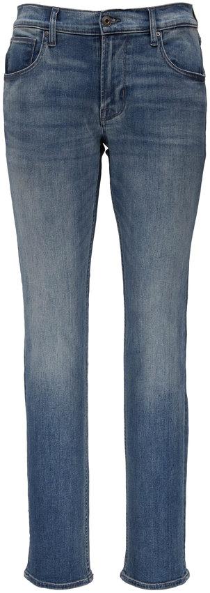Hudson Clothing Blake Pacific Mid-Rise Slim Straight Jean
