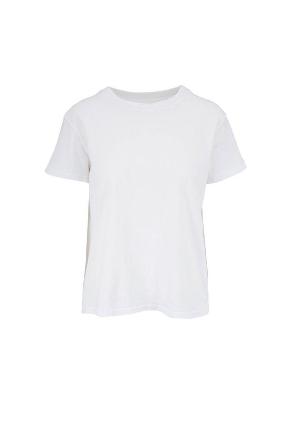 Nili Lotan Brady White Crewneck T-Shirt