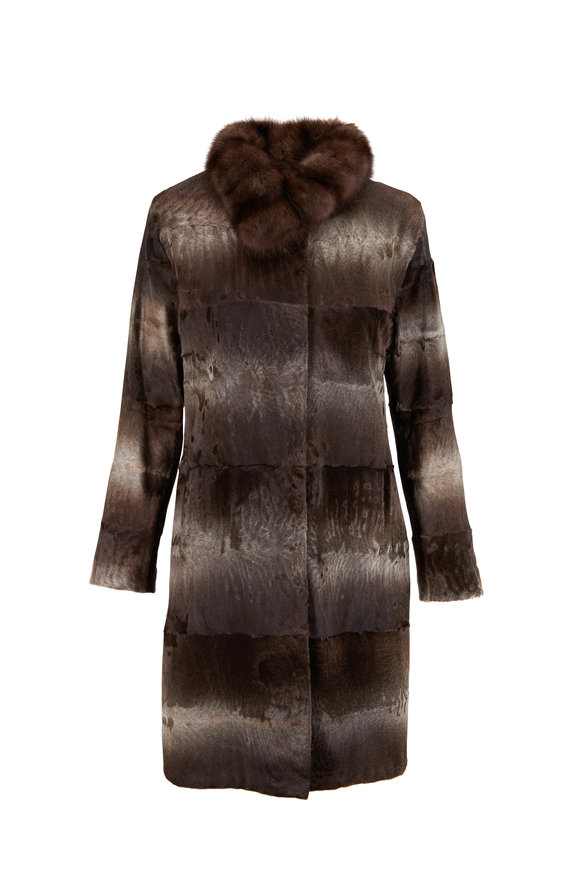 Viktoria Stass Antra Broadtail & Sable Coat