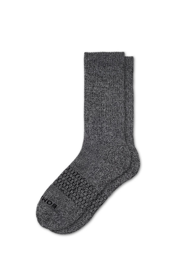 Bombas Classic Marls Charcoal Calf Socks