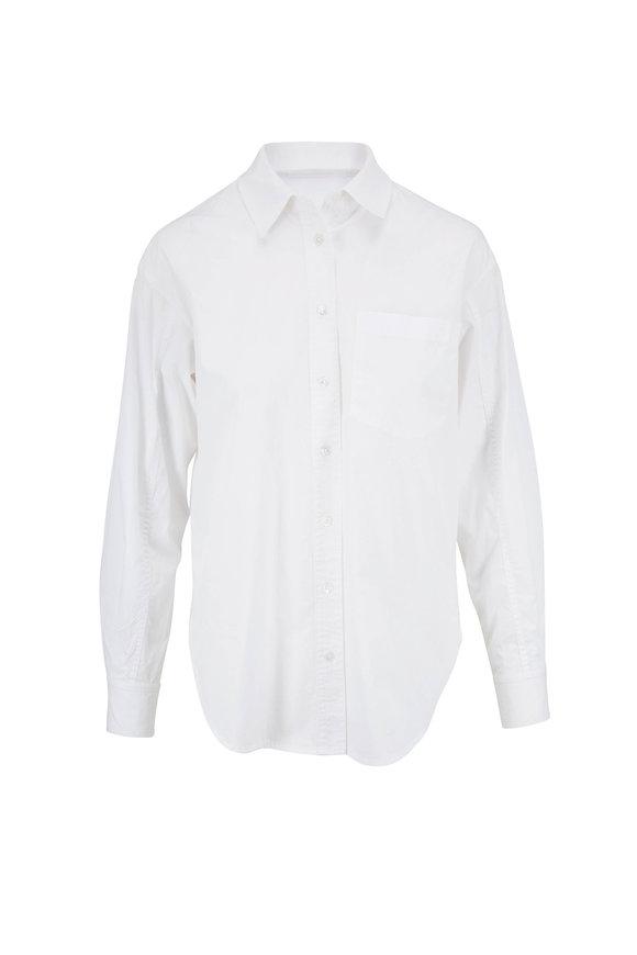 Veronica Beard Keiko White Button Down Shirt