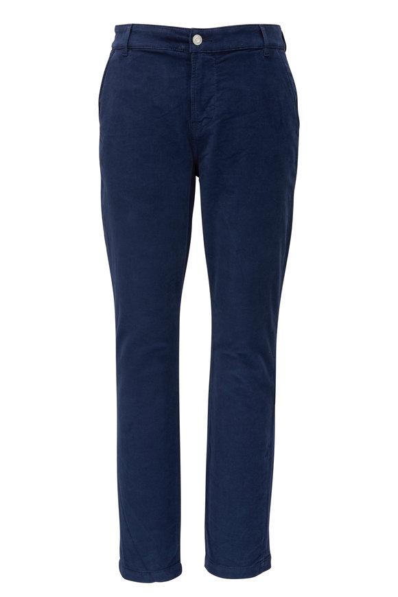 Hudson Clothing Chino French Navy Corduroy Slim Straight Jean