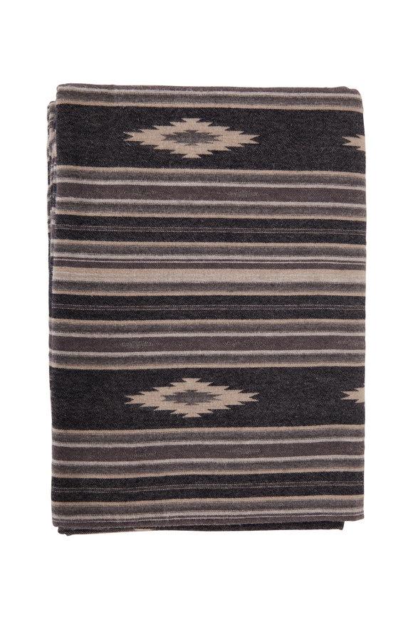 Faherty Brand Adirondack Smoke Serape Blanket