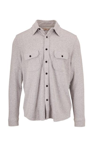 Faherty Brand - Legend Light Grey Sweatshirt Shirt