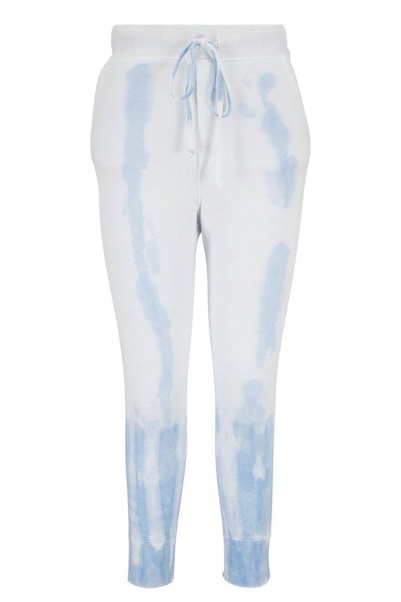 Nili Lotan Nolan Sky Blue Tie-Dye Sweatpant