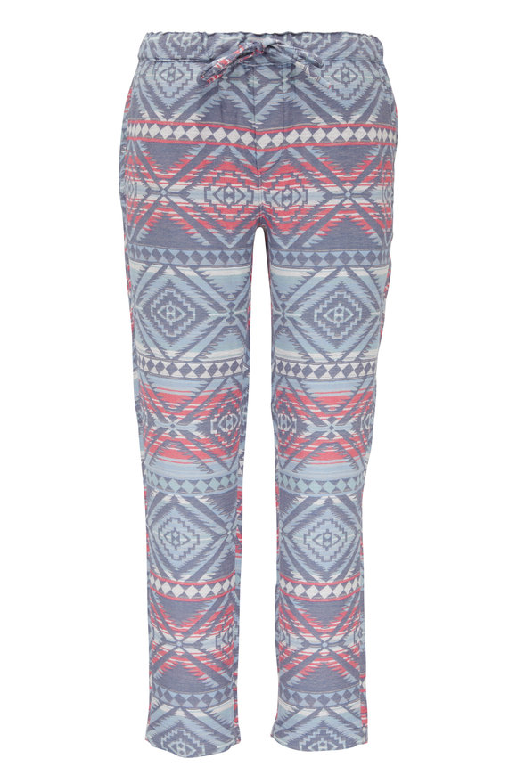 Faherty Brand Aleutian Coast Blanket Pajama Pant