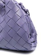 Bottega Veneta - Lavender Interciatto Leather Small Crossbody