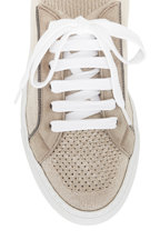 Brunello Cucinelli - Beige Lurex Knit Runner