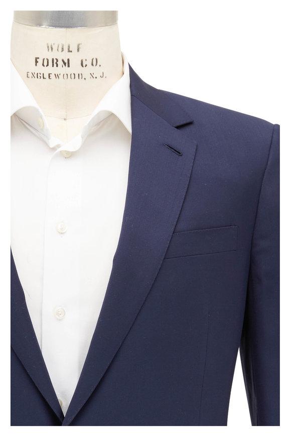 Ralph Lauren Navy Blue Wool Sportcoat