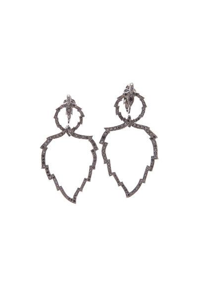 Paul Morelli - Aspen Leaf Clip On Dangle Earrings