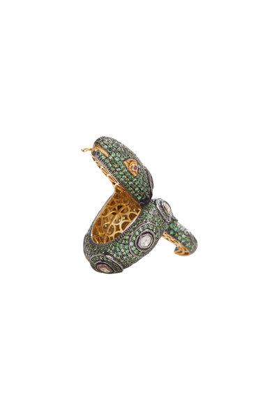 Loren Jewels - Diamond, Sapphire & Pink Tourmaline Ring