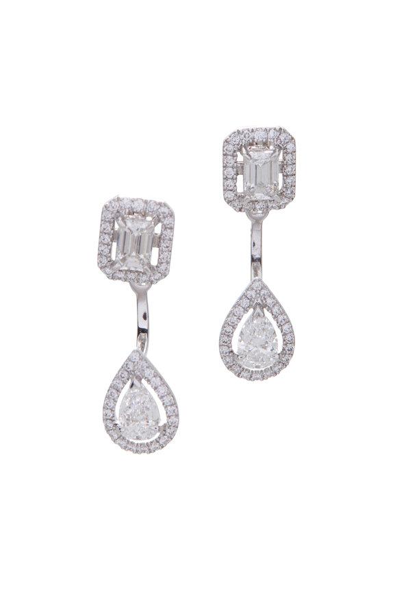 Messika My Twin Toi & Moi Diamond Earrings