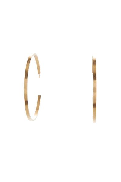 Caroline Ellen - 20K Gold Large Hoop Earrings