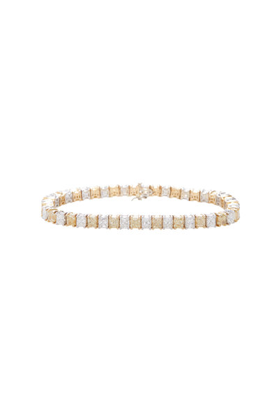 Lowy & Co - Yellow & White Diamond Bracelet