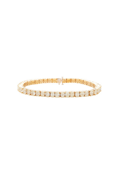 Lowy & Co - Fancy Light Yellow Oval Diamond Bracelet