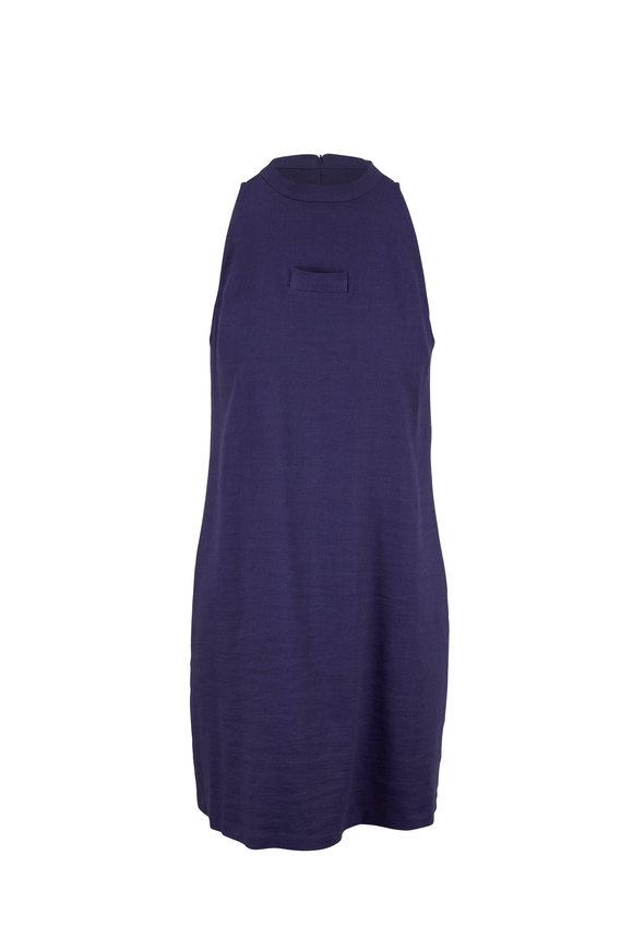 Peter Cohen Blue Stash Pocket Day Dress
