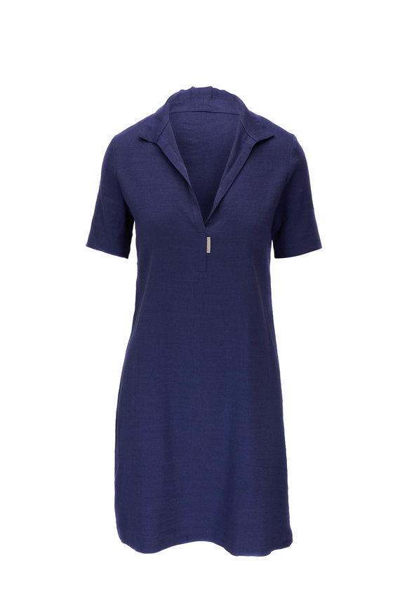 Peter Cohen Indigo Paolo Dress