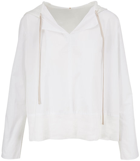 Peter Cohen White Her Hoodie