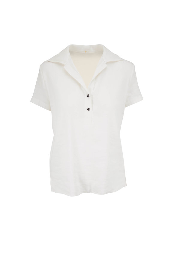 Peter Cohen White Polo