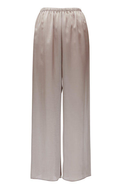 Peter Cohen - Beige Cropped Pull-On Pant