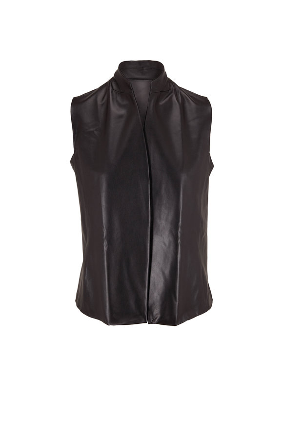 Peter Cohen Black Wrest Vest