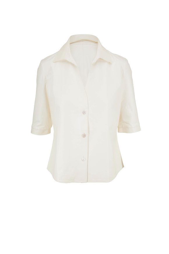 Peter Cohen White Rev Shirt