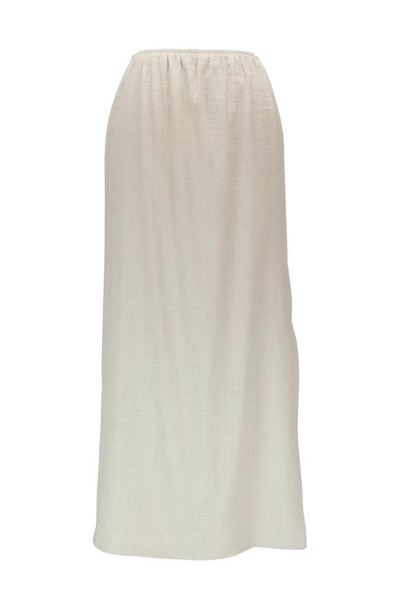 Peter Cohen Khaki Stem Skirt