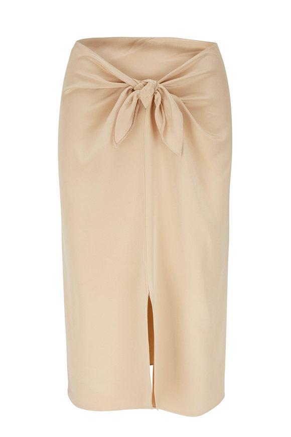 Peter Cohen Khaki Skirt