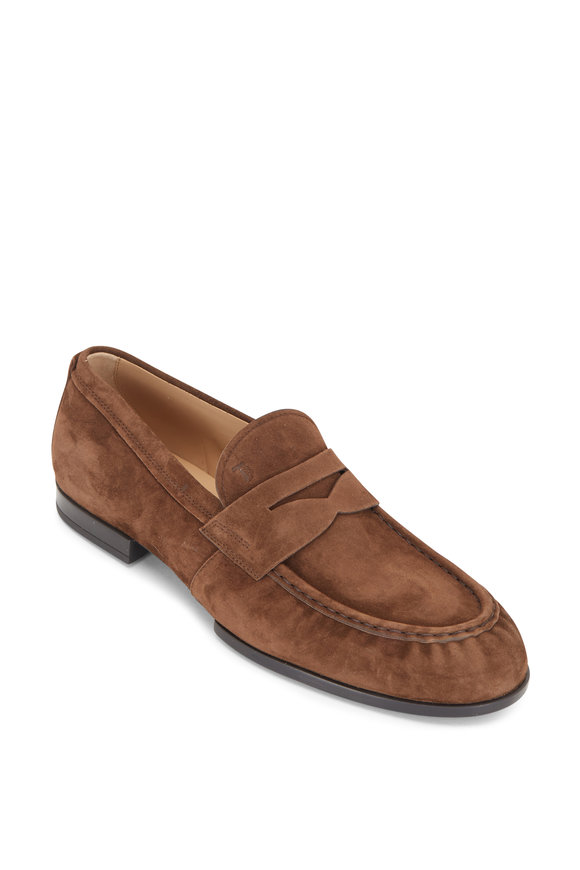 Tod's Mocassino Dirty Buck Suede Loafer