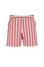 Orlebar Brown - Rescue Red & White Island Stripe Swim Trunks
