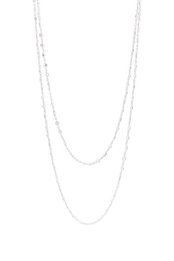 Lowy & Co Diamond By The Yard Necklace