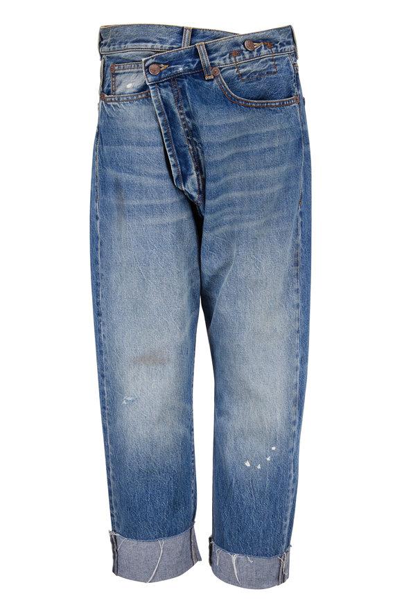 R13 Crossover Jasper Five Pocket Jean
