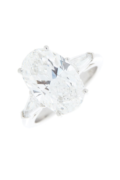 Louis Newman - Platinum Diamond Bridal Ring
