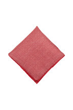 Brunello Cucinelli - Red Dot Silk Pocket Square