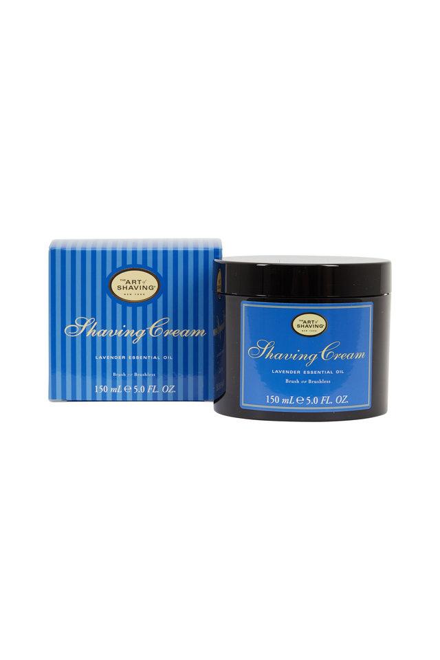 Lavender Brush or Brushless Shaving Cream