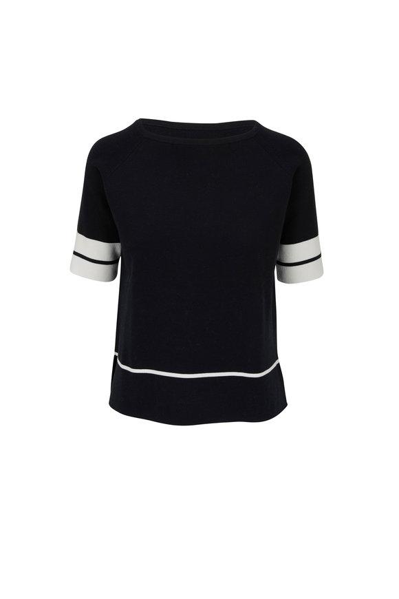 Kinross Black & White Short Sleeve Shirt