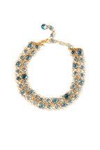 Windsor Jewelers - 18K Rose Gold Pomellato Blue Topaz Capri Necklace
