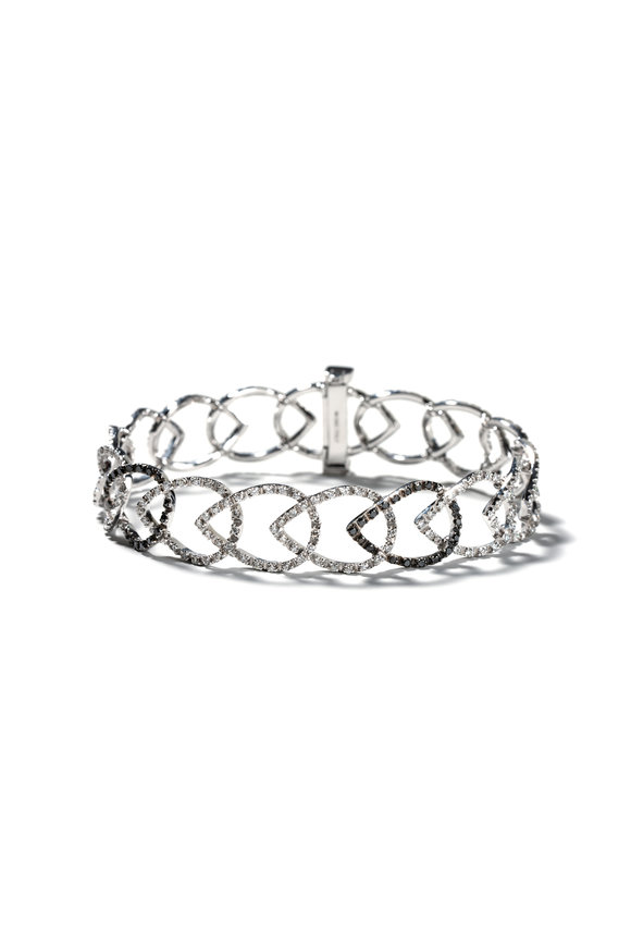 Windsor Jewelers 18K White Gold Alex Ball Diamond Bracelet