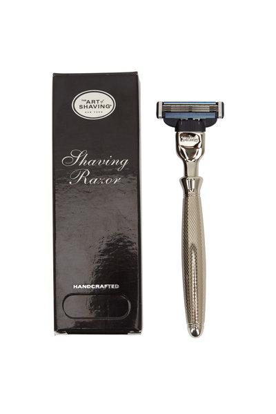 The Art of Shaving - Nickel Engraved Razor