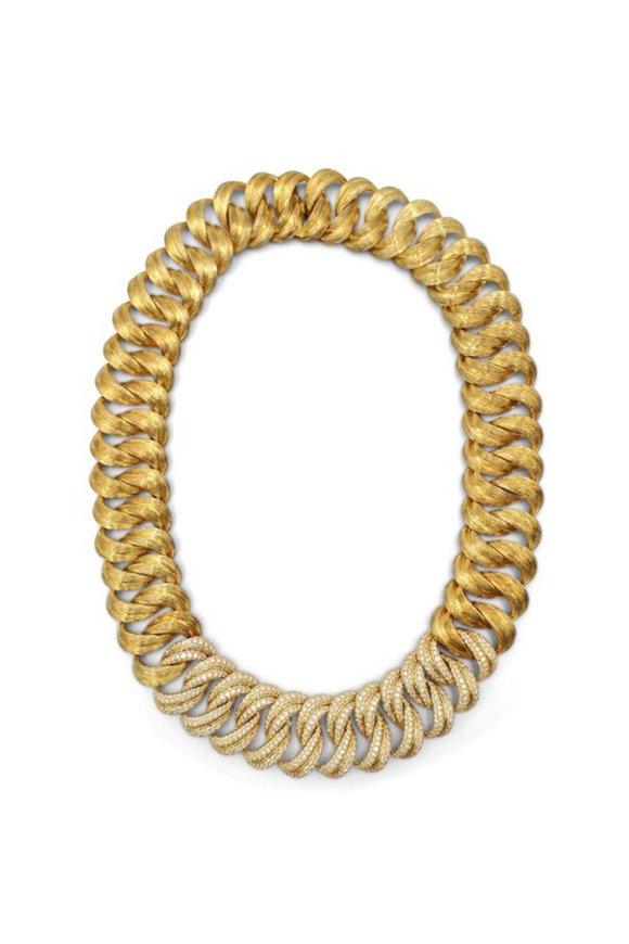 Windsor Jewelers 18K Yellow Gold Gold Henry Dunay Diamond Necklace