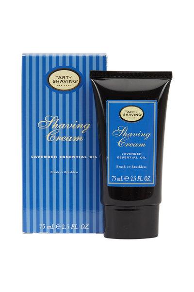The Art of Shaving - Lavender Brush or Brushless Shaving Cream