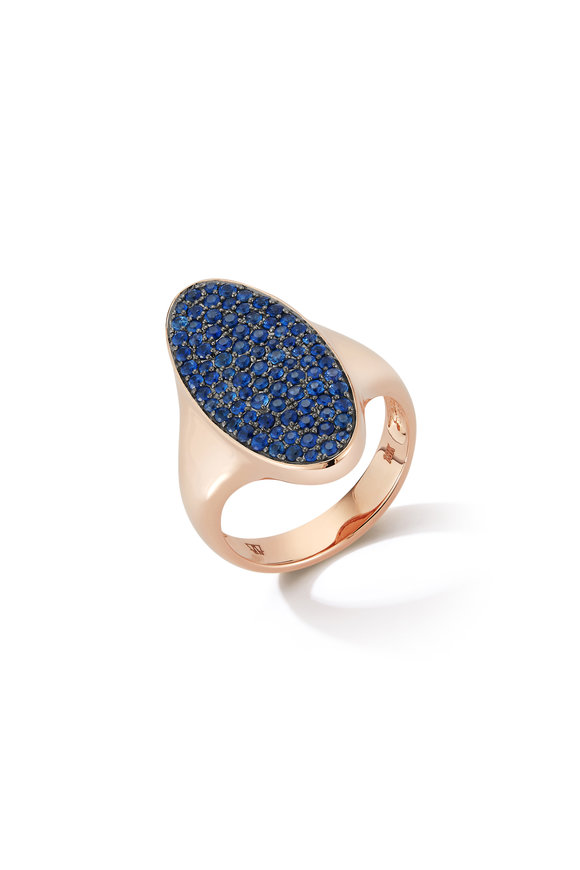 Walters Faith 18K Rose Gold Sapphire Lytton Ring