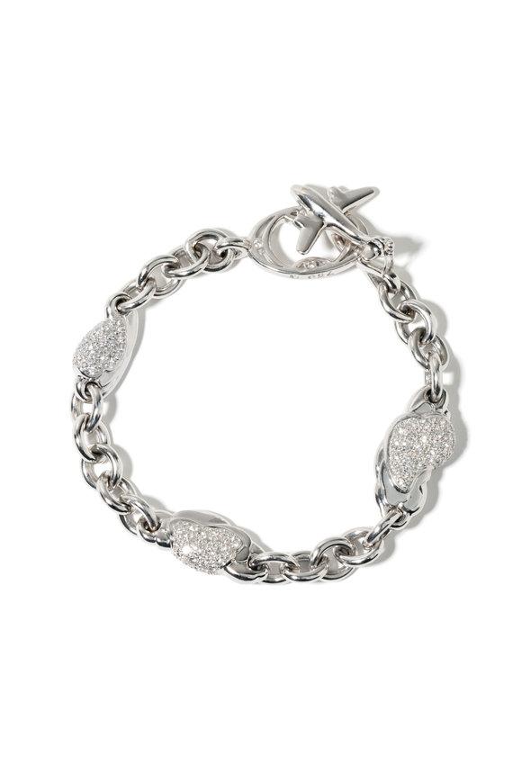 Windsor Jewelers 18K White Gold Diamond Bracelet