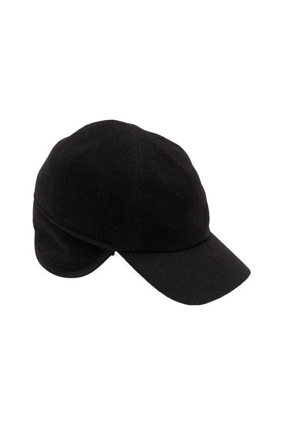 Wigens Black Cashmere Cap