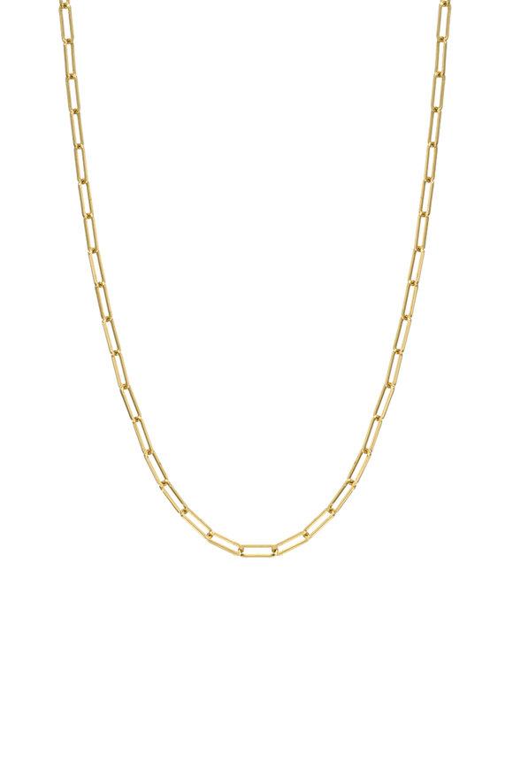 Dru 14K Yellow Gold Medium Long Link Bracelet