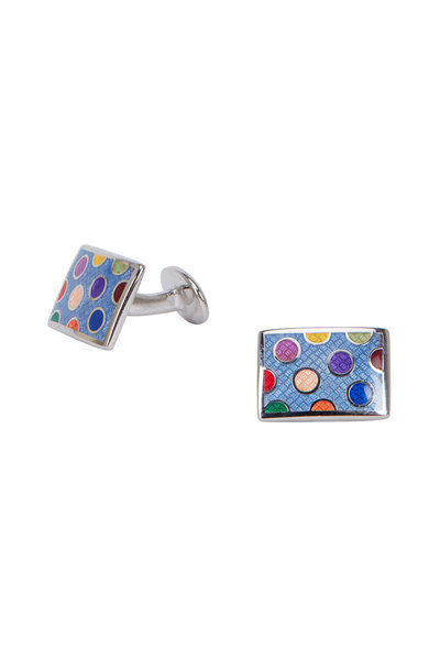 David Donahue - Sterling Silver Dots Cuff Links