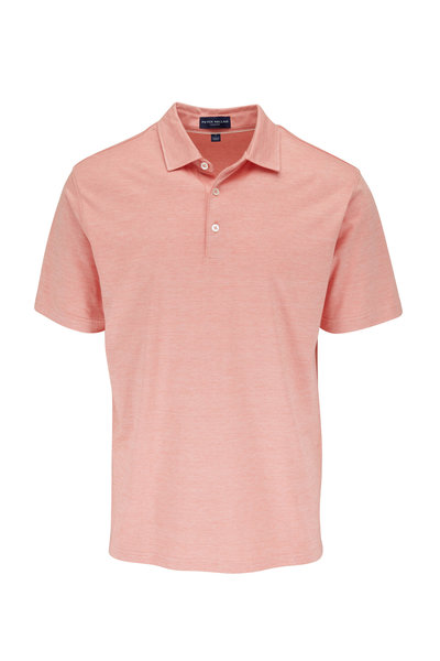 Peter Millar - Excursionist Pink Short Sleeve Polo