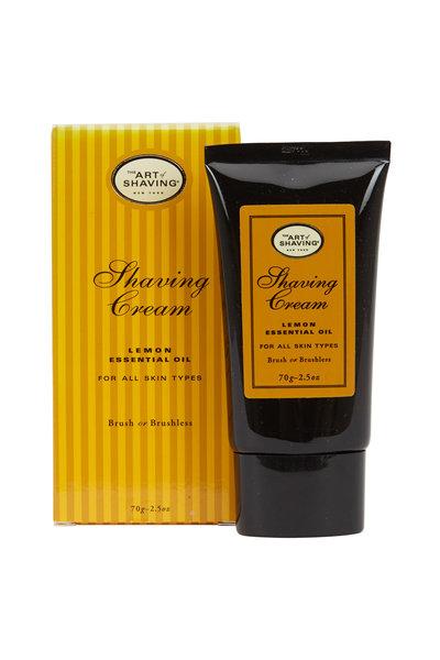 The Art of Shaving - Brush or Brushless Lemon Essential Oil