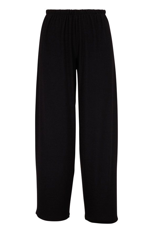 Vince Black Cropped Lounge Pant
