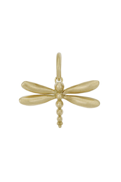 Temple St. Clair - Gold Dragonfly Charm Necklace